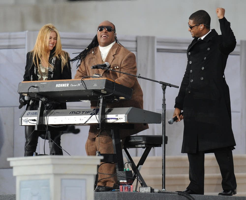 Shakira, Stevie Wonder, Usher