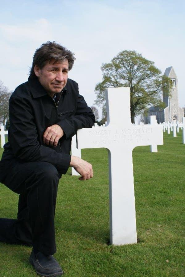 McGrath's grave