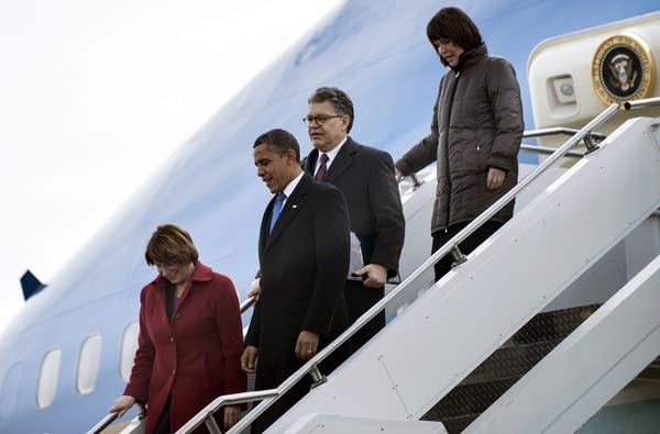 Minnesota Democrats with Obama