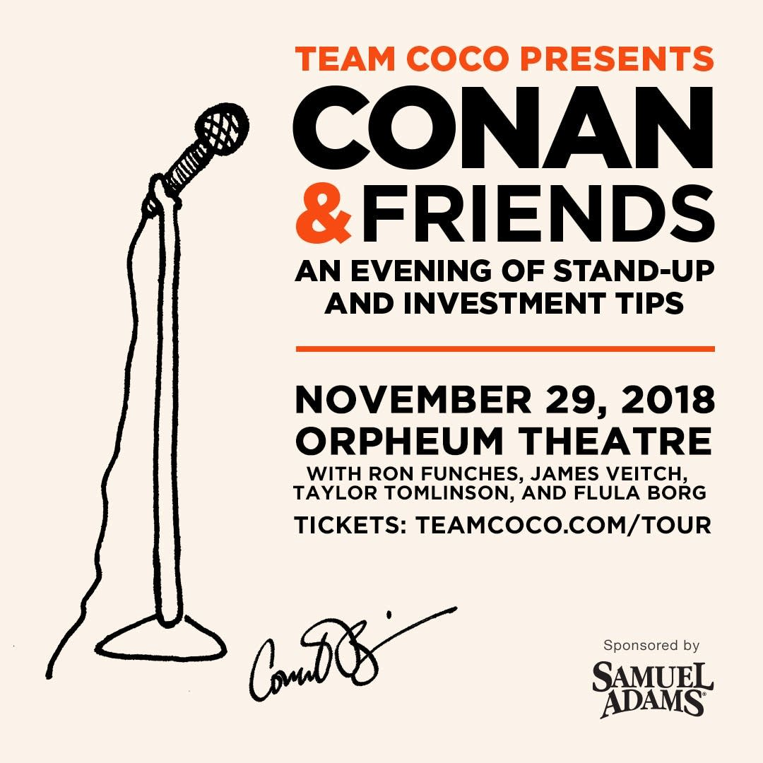 Conan and Friends