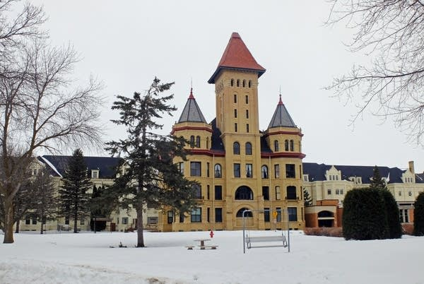 The main administration building has been an iconic part of Fergus Falls.