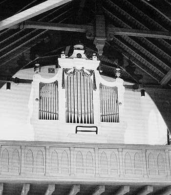 1909 Schwarz organ at Immanuel chapel, Bremen-Walle, Germany