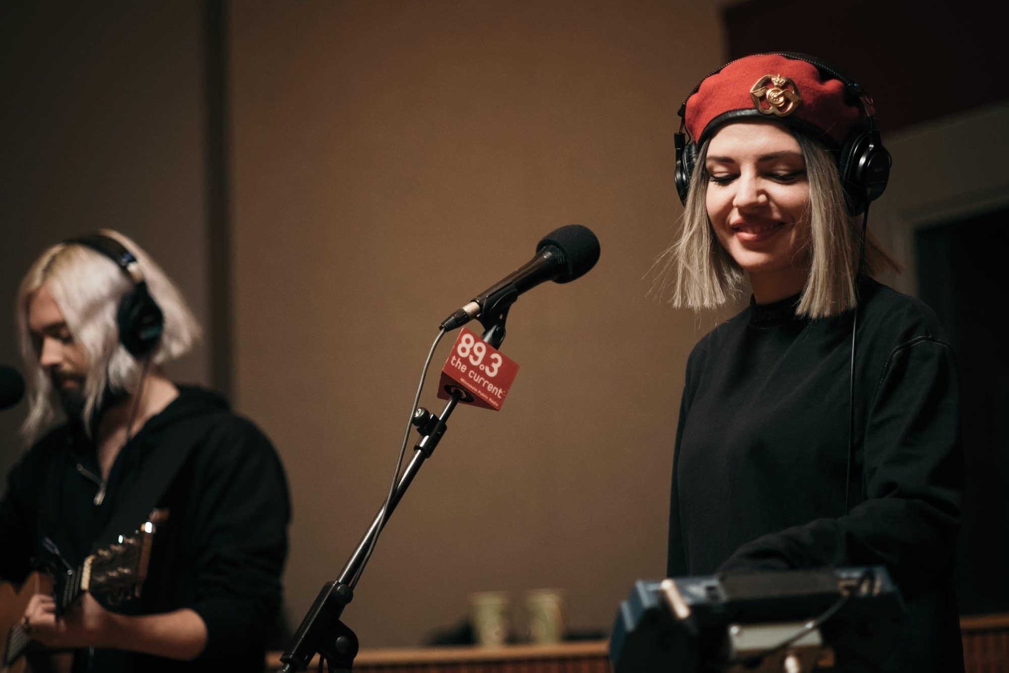 Flora Cash perform in The Current studio