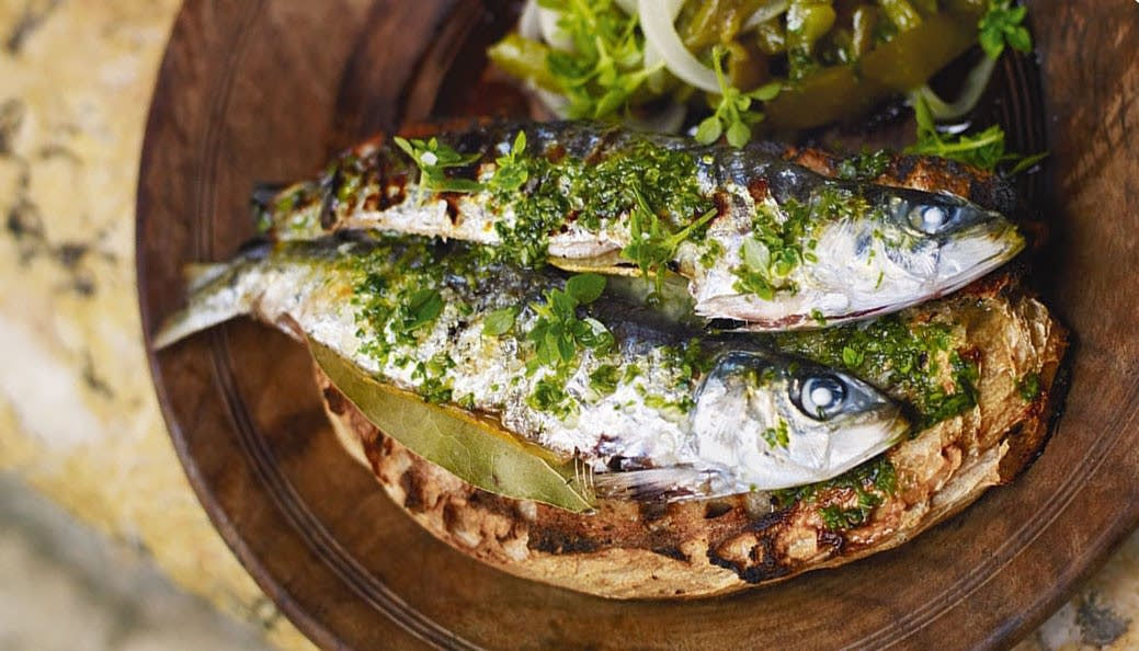 The simple beauty of Portuguese-style grilled sardines | The Splendid Table