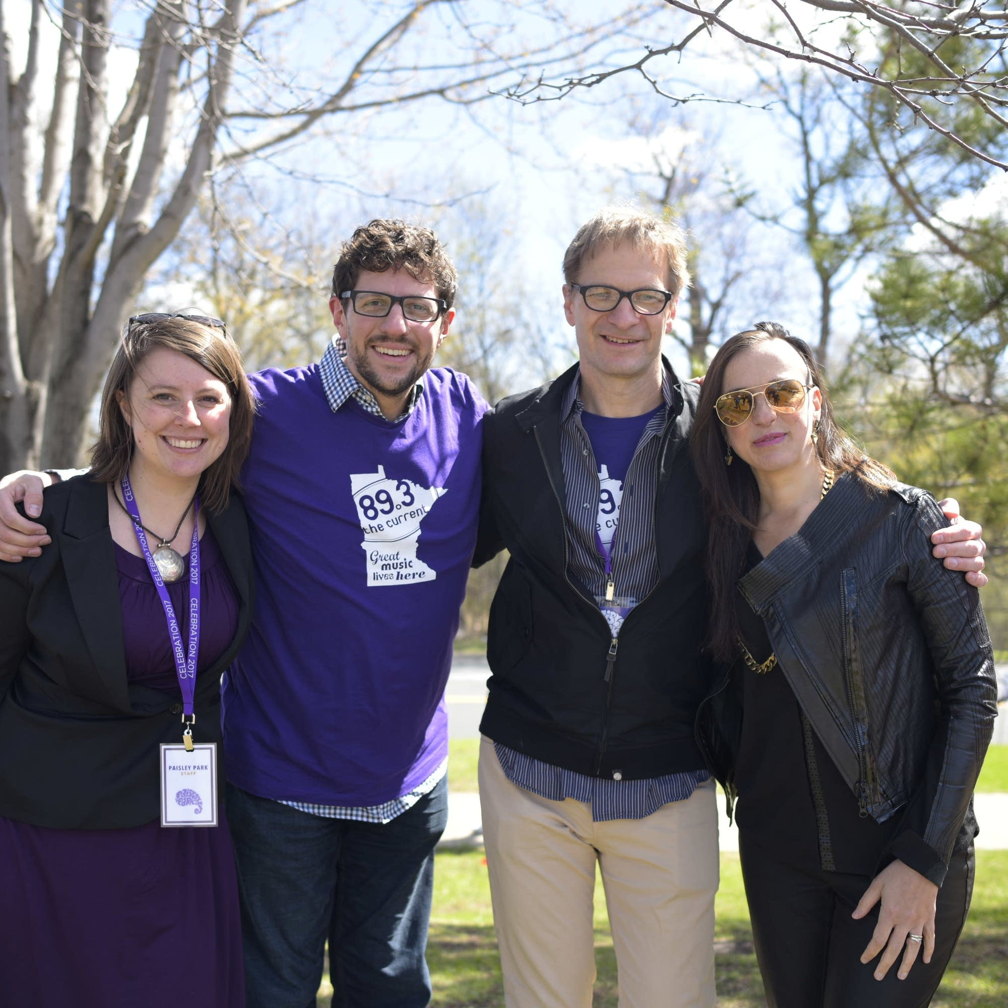 MPR at Paisley Park on April 21, 2017