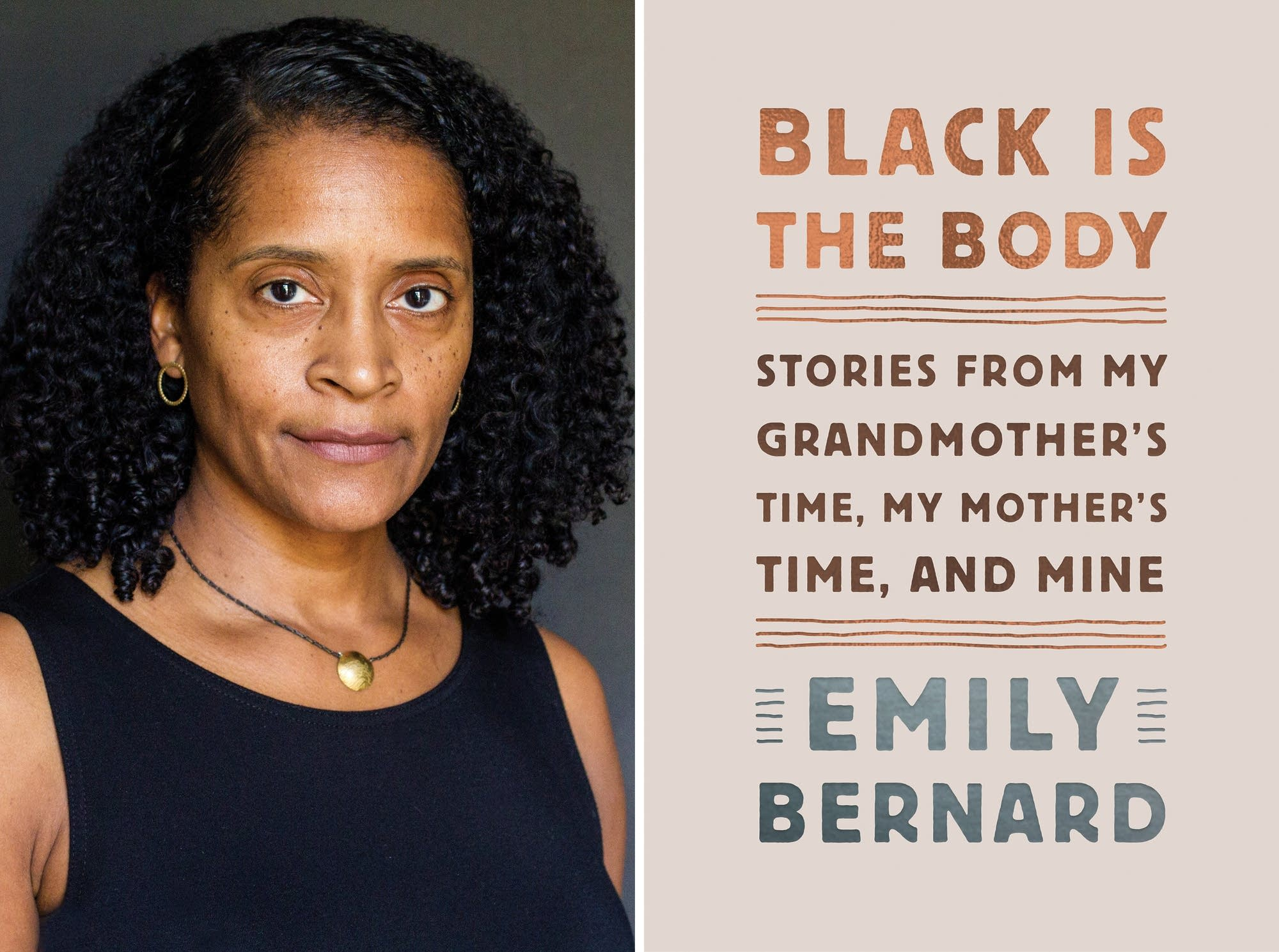 Emily Bernard and her book 'Black is the Body.'