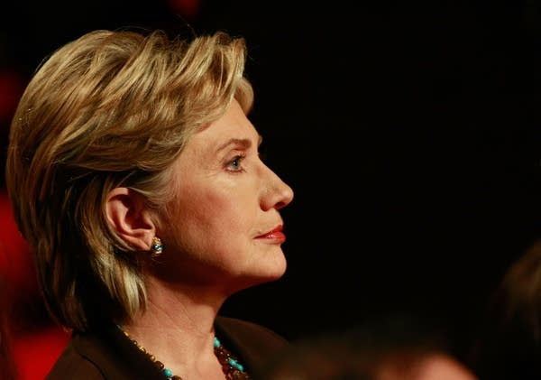 Hillary Clinton at the final deabte in New York