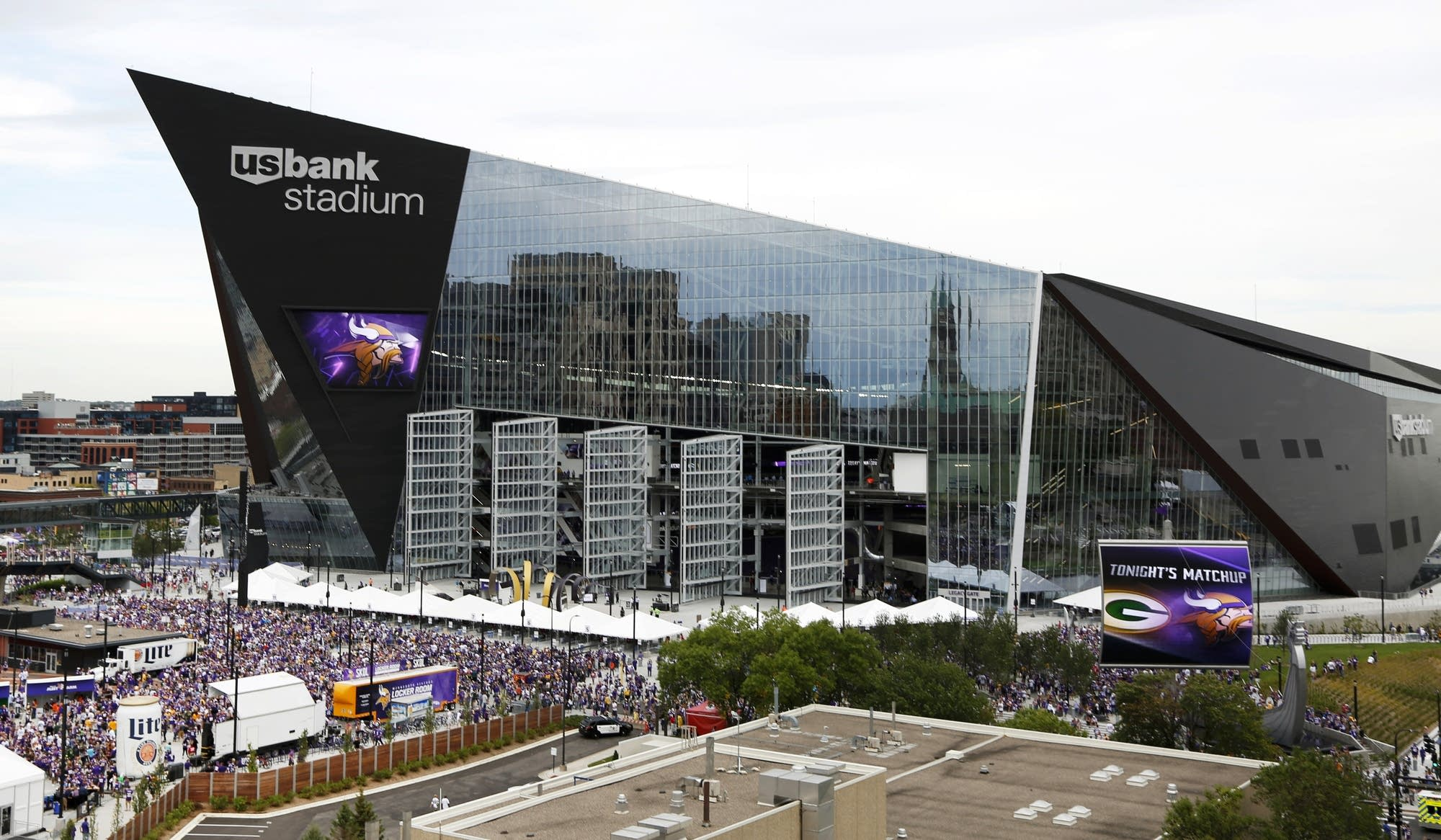 U.S. Bank Stadium & U.S. Bank Stadium to open doors to runners skaters | MPR News