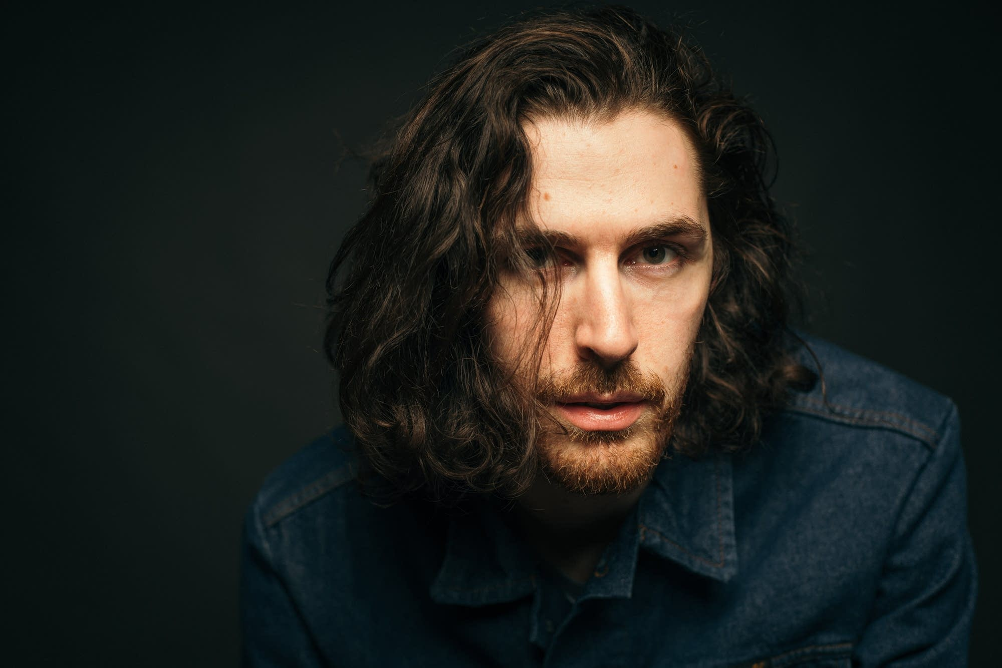Hozier portrait at The Current