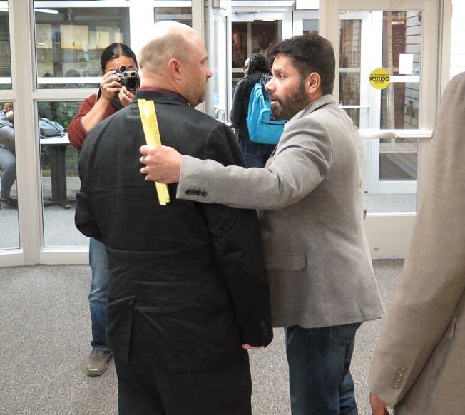 Shah Khan and Grant Nichols