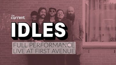 Watch IDLES in concert at First Avenue