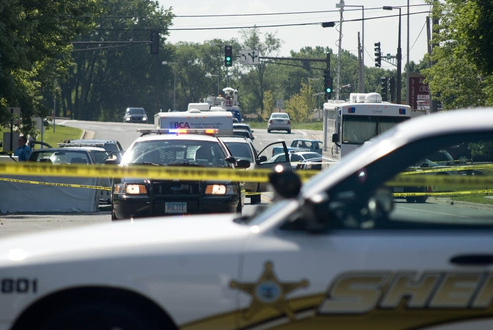 Cottage Grove scene of the shooting