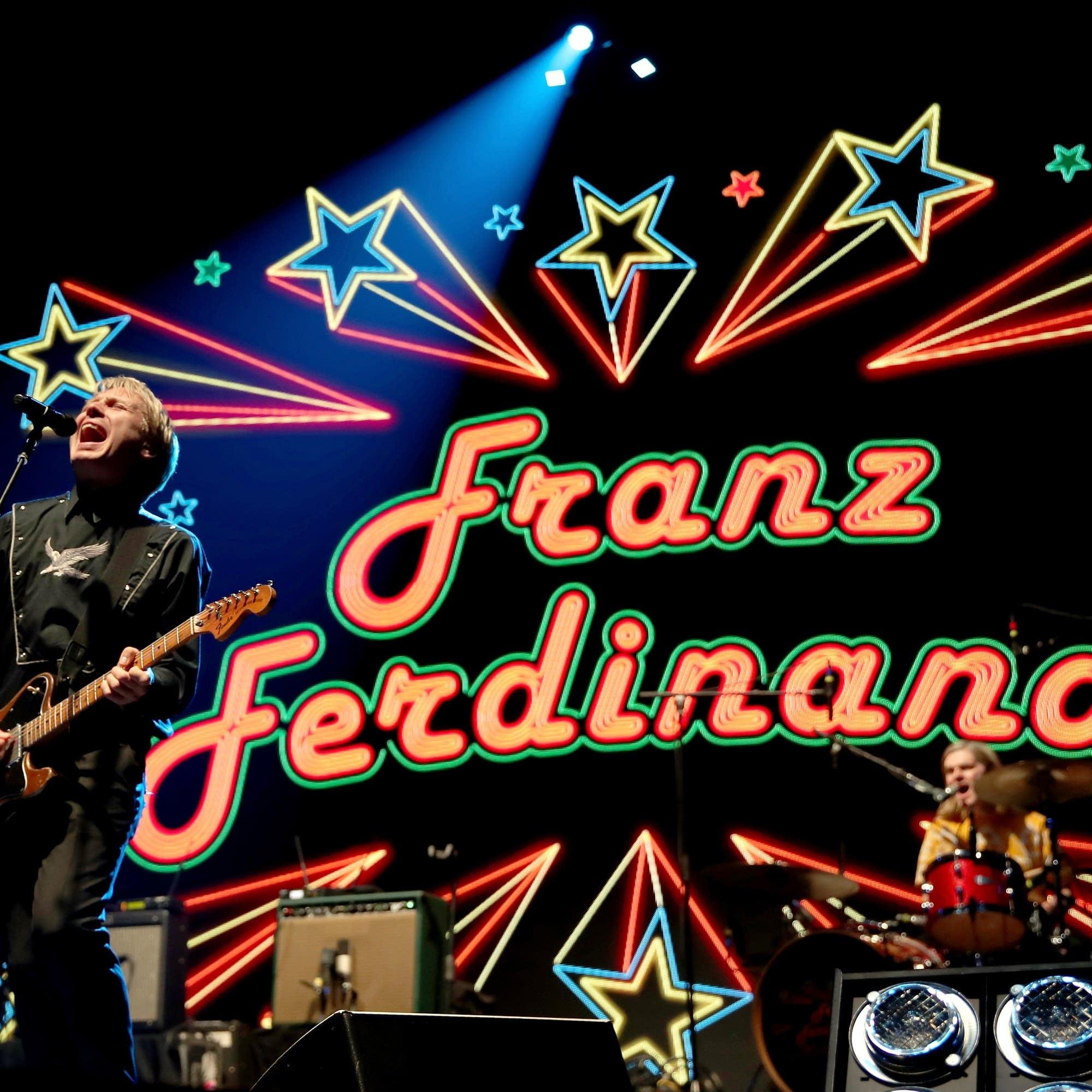 Alex Kapranos of Franz Ferdinand