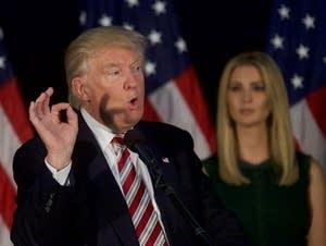 Donald Trump and Ivanka Trump
