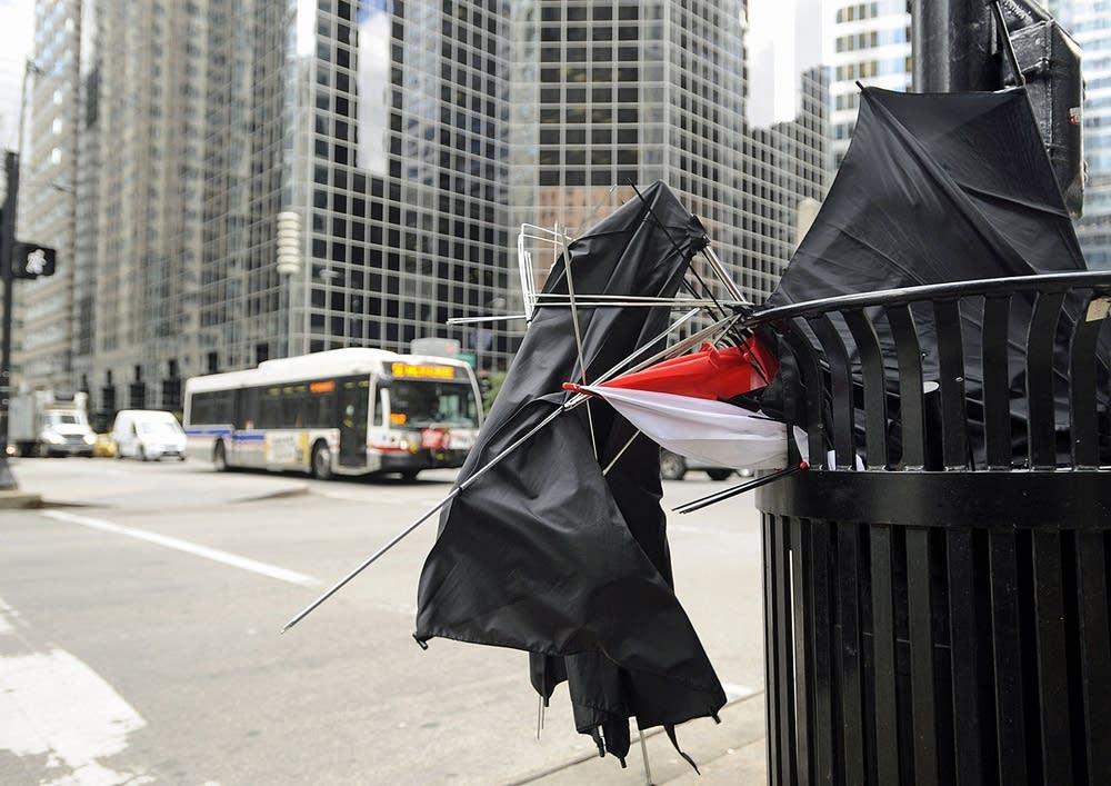 Defunct umbrellas