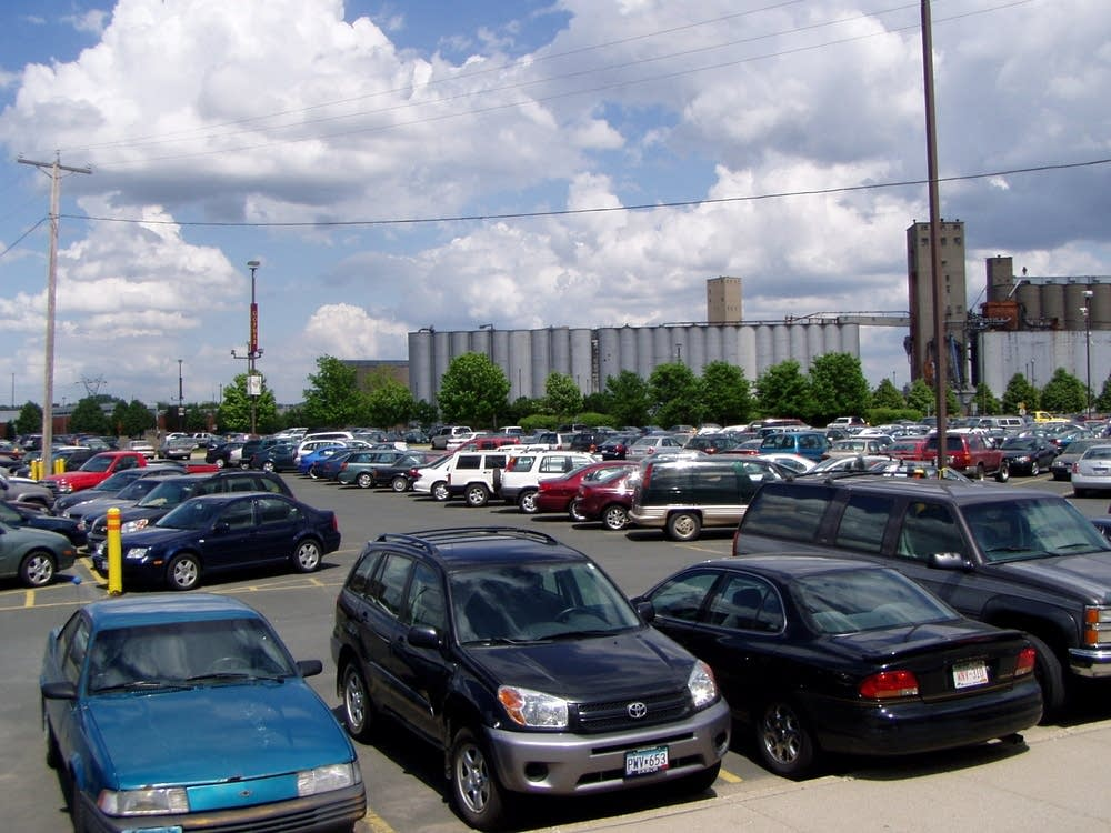 The football stadium once known as the parking lot