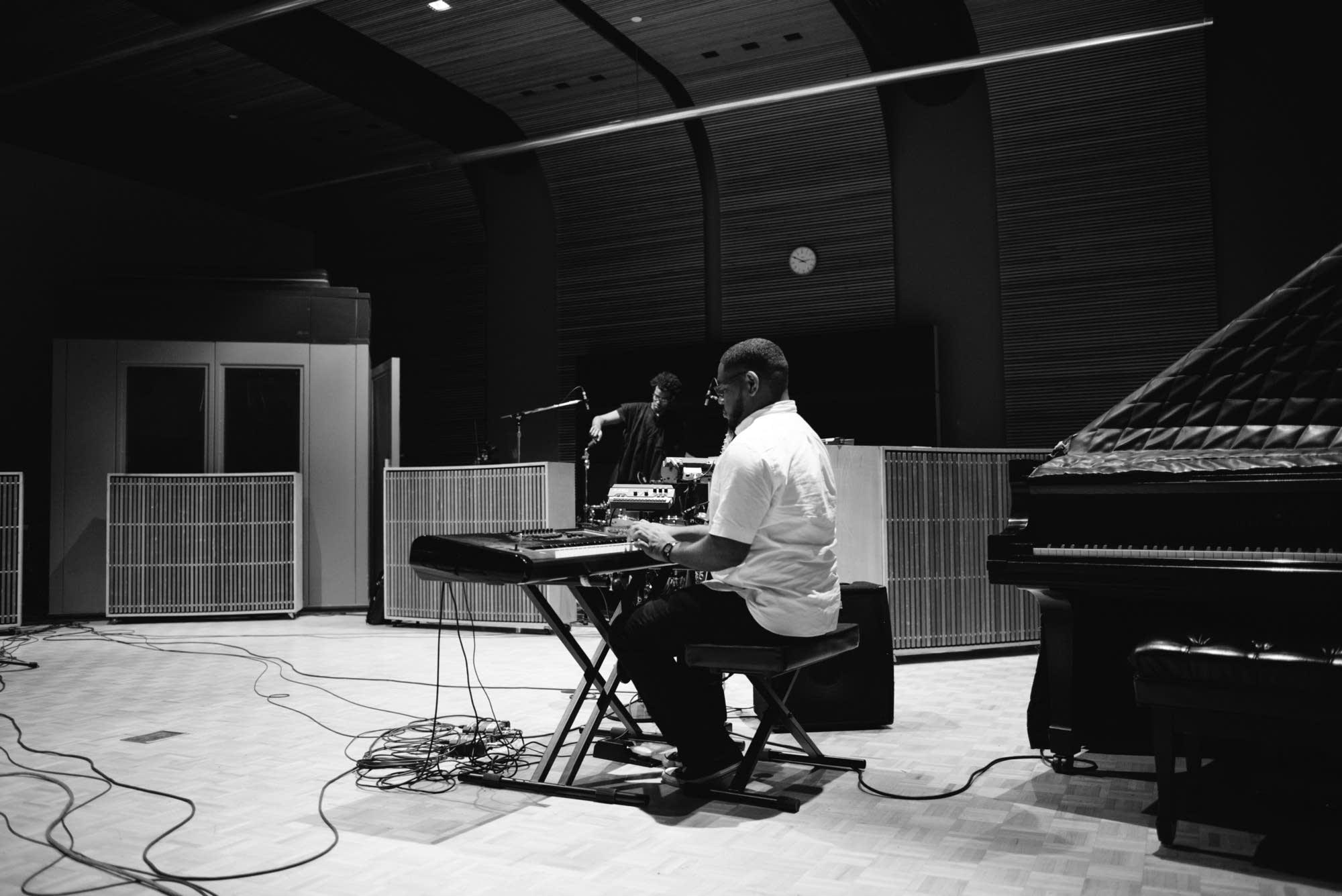 Jacob Dodd in The Current's studio