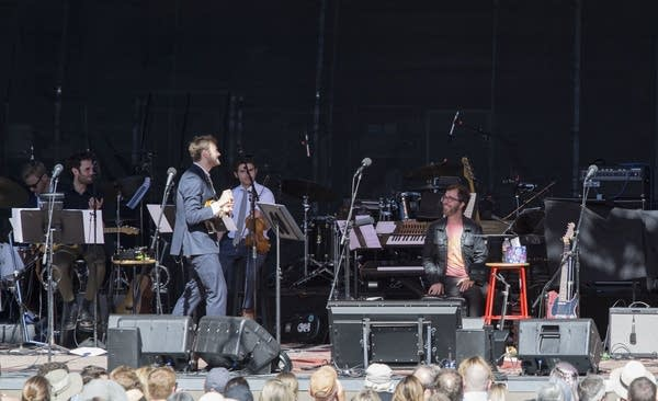 Chris Thile talks with Ben Folds