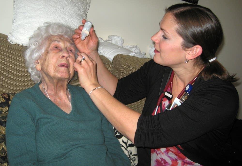 Nurse practitioner Alison Romstad