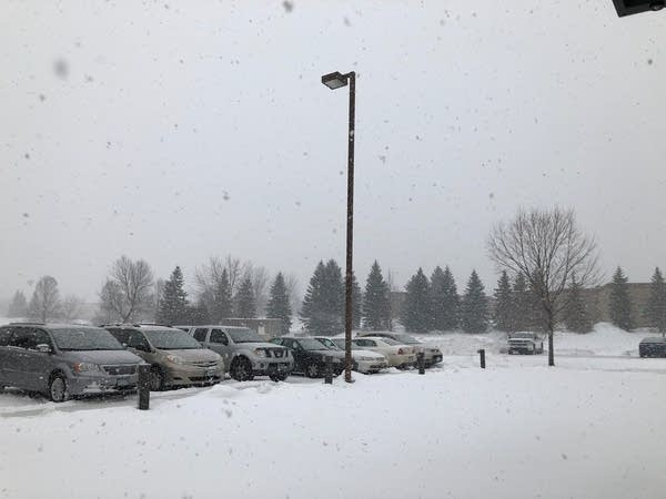 Snowflakes Friday in Chanhassen