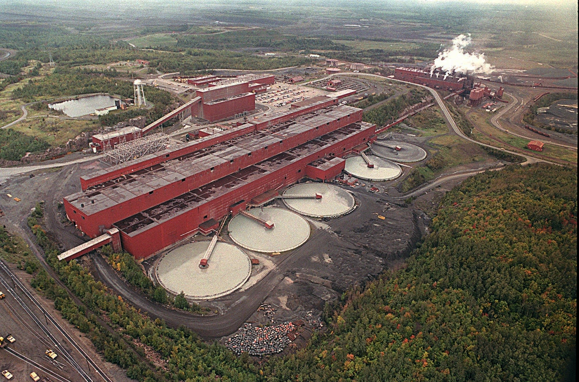 The LTV Steel processing plant,which was taken over by PolyMet Mining Corp.