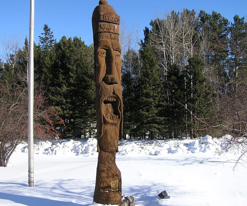 Finland statue