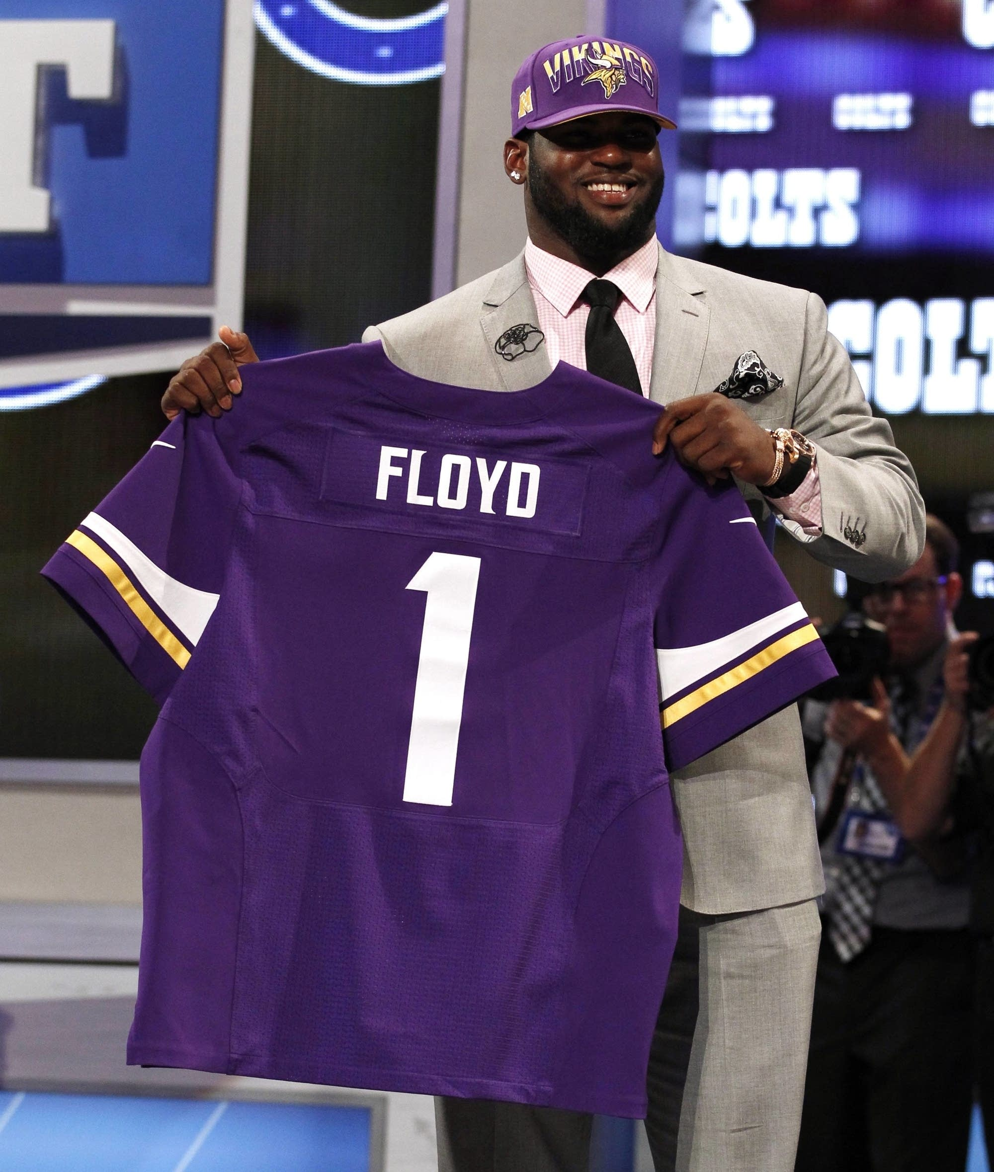 Vikings NFL draft pick Floyd