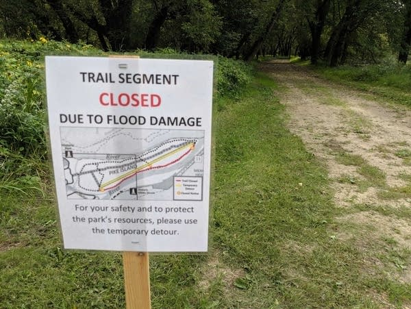 Parts of the Fort Snelling State Park still remain closed to visitors.