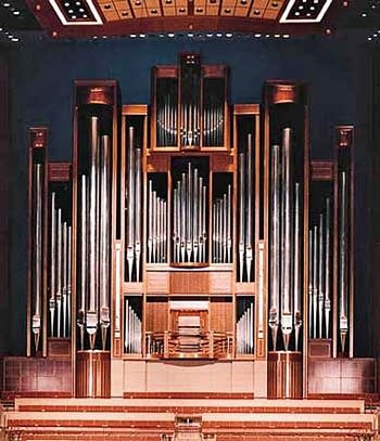 1992 C.B. Fisk organ, at Meyerson Symphony Center, Dallas Texas