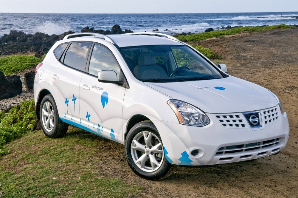 Better Place's electric car model