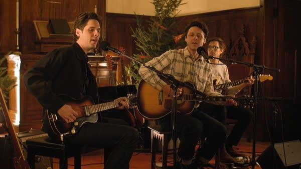 The Cactus Blossoms perform at MicroShow