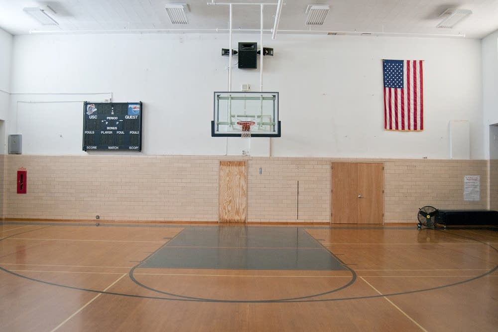 The gymnasium at the old United South Central