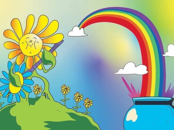 Smash Boom Best: Flowers vs Rainbows