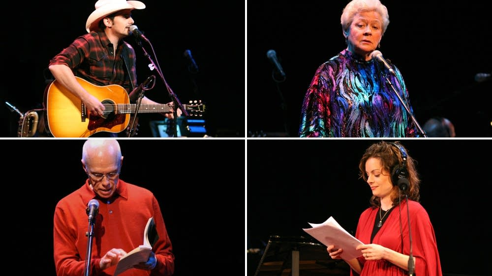 Brad Paisley, Jean Redpath, Ron Padgett, Kimberly Williams-Paisley