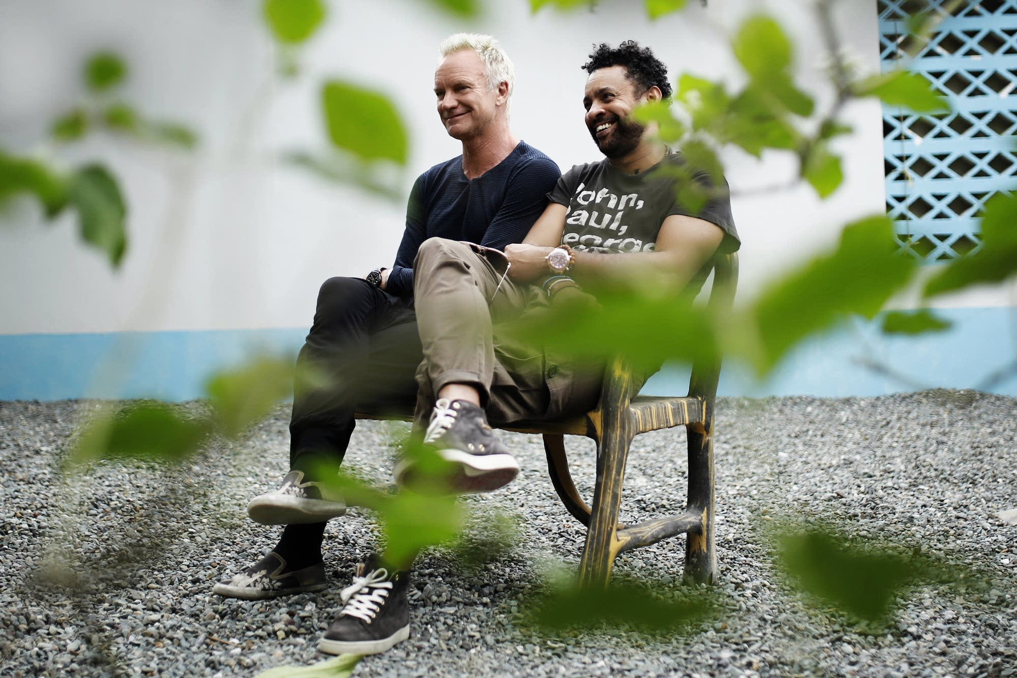 Sting talks about his collaboration with Shaggy   The Current