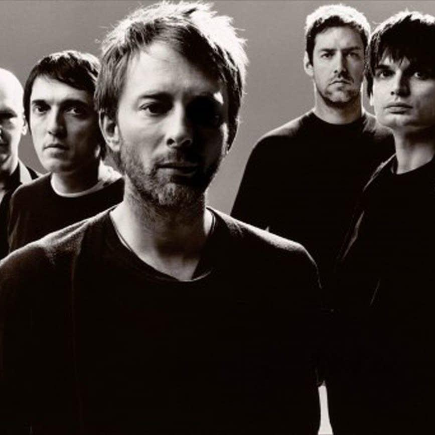 Radiohead group shot
