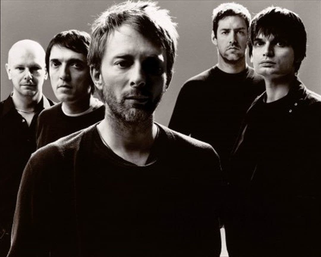 Radiohead group shot