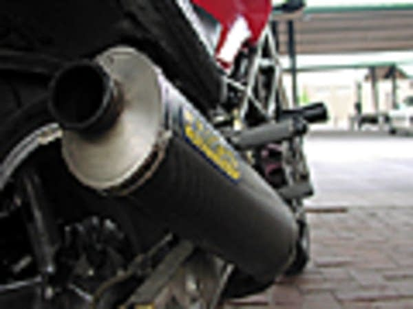 Aftermarket motorcycle pipes