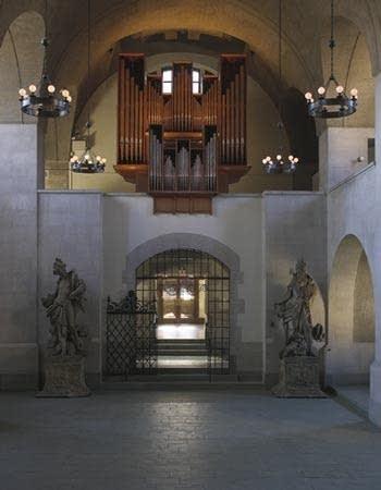 1958 Flentrop organ at Adolphus Busch Hall, Harvard University, Cambridge, Massachusetts