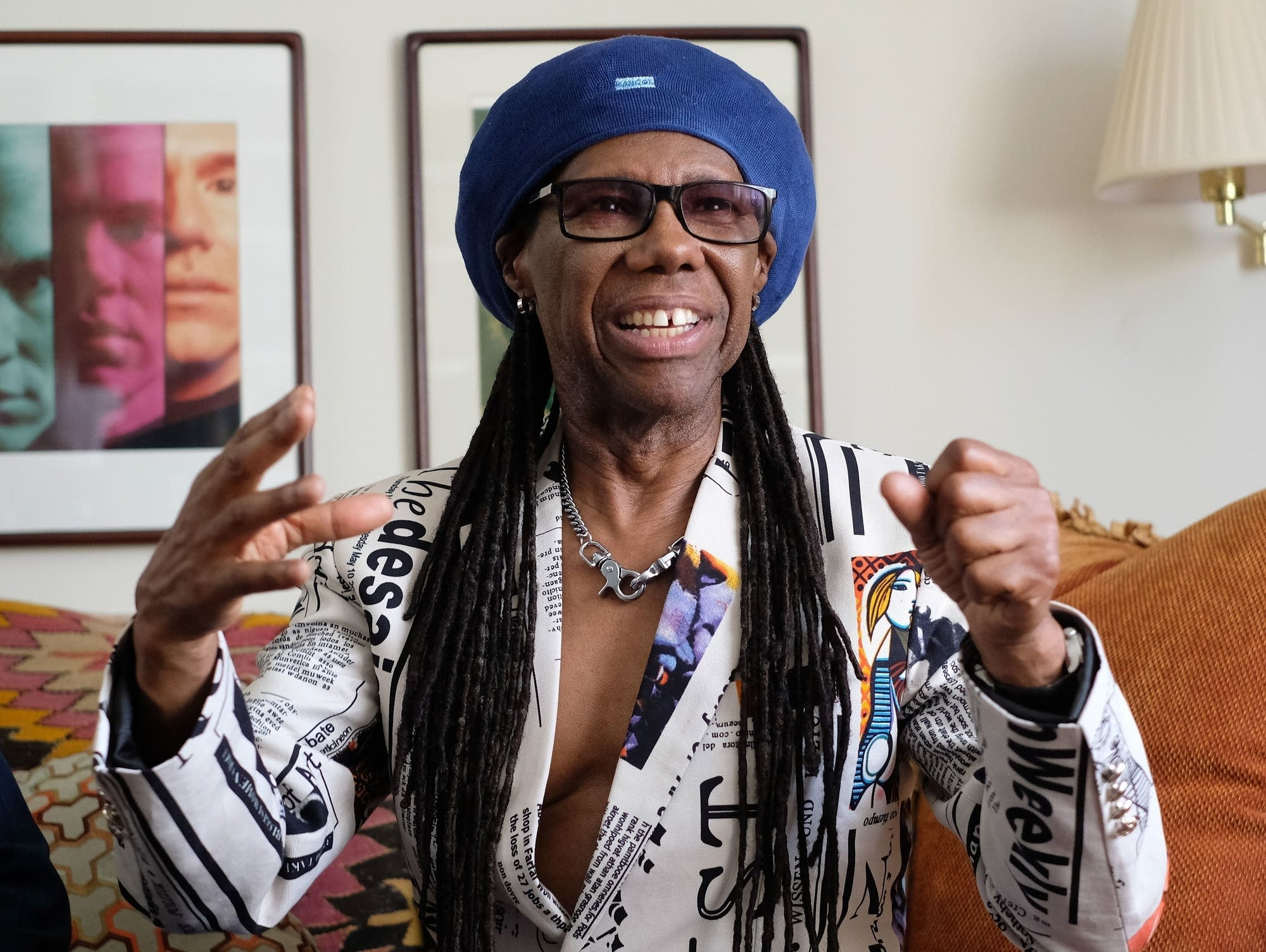 Nile Rodgers, photographed in Connecticut in 2018.