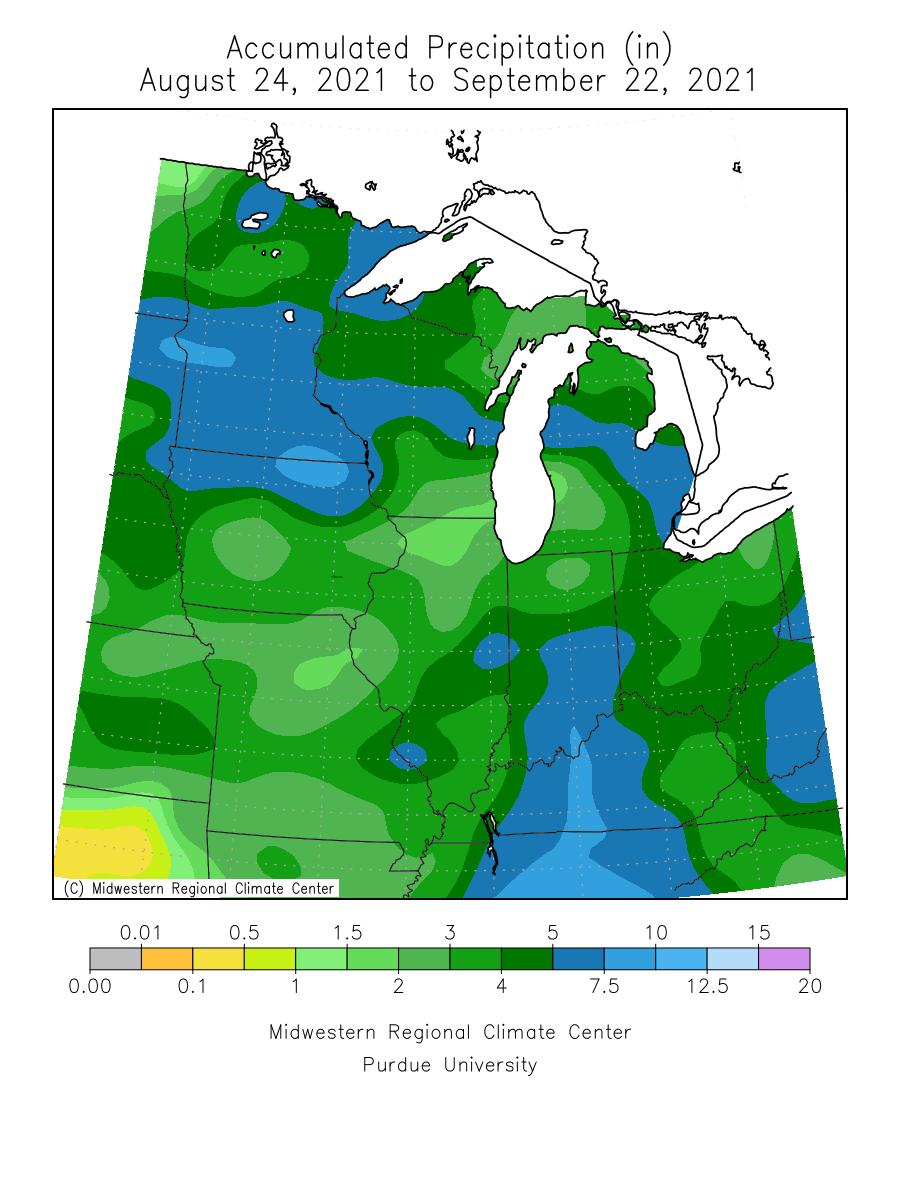 30-day precipitation