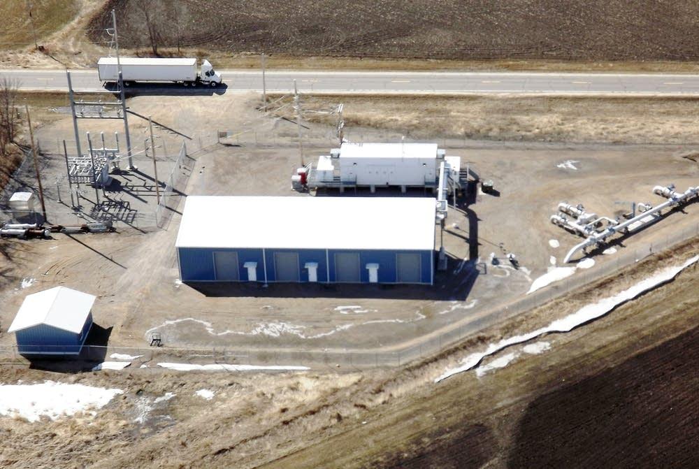 Minnesota Pipe Line Company pumping station