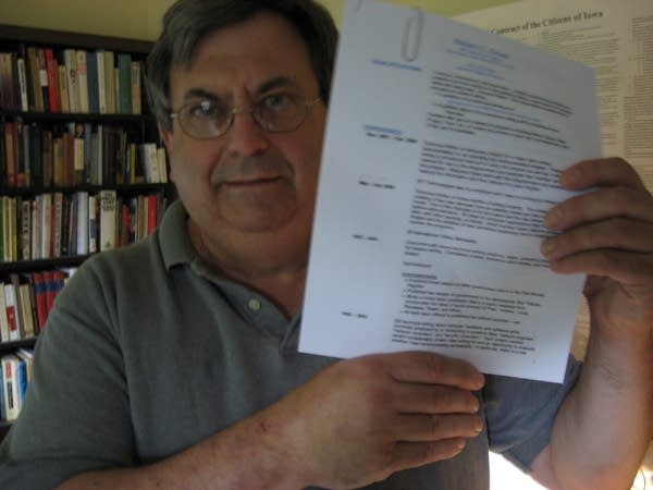 Steve Cross with resume