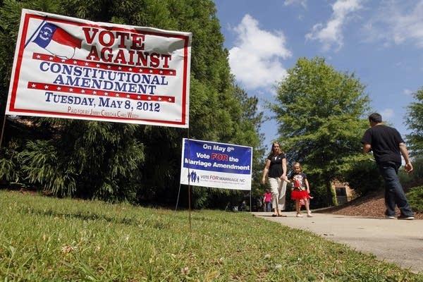 North Carolina approves amendment