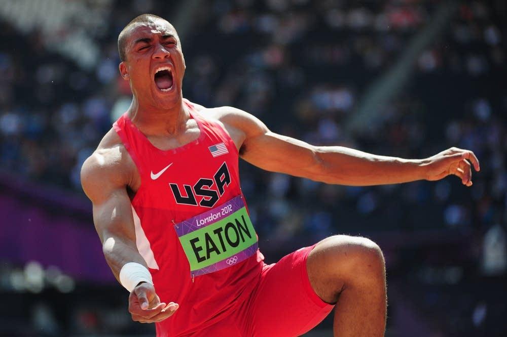 Ashton Eaton of the United States