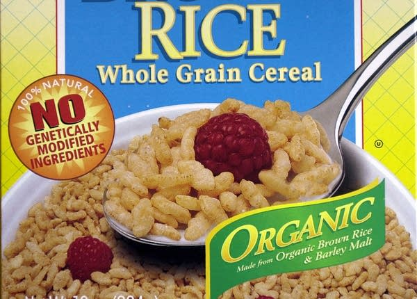 GMO-free cereal