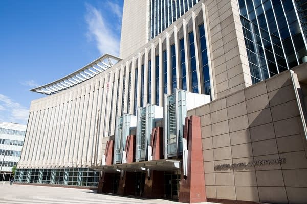 The Federal Courthouse Building in Minneapolis.