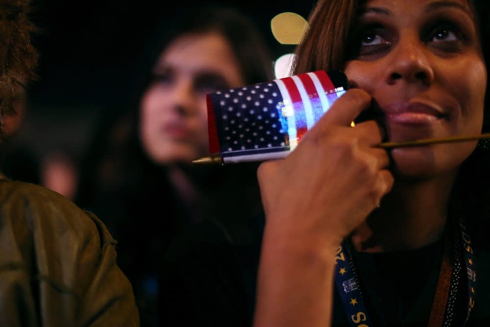 President Obama Holds Election Night Event In Chic