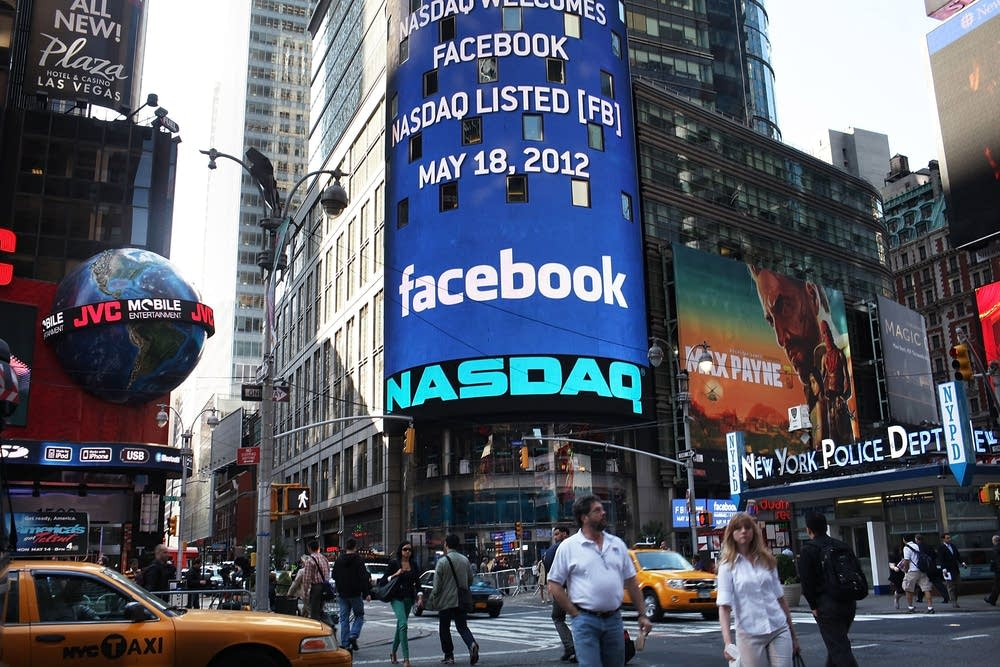 Facebook Debuts As Public Company With Initial Pub