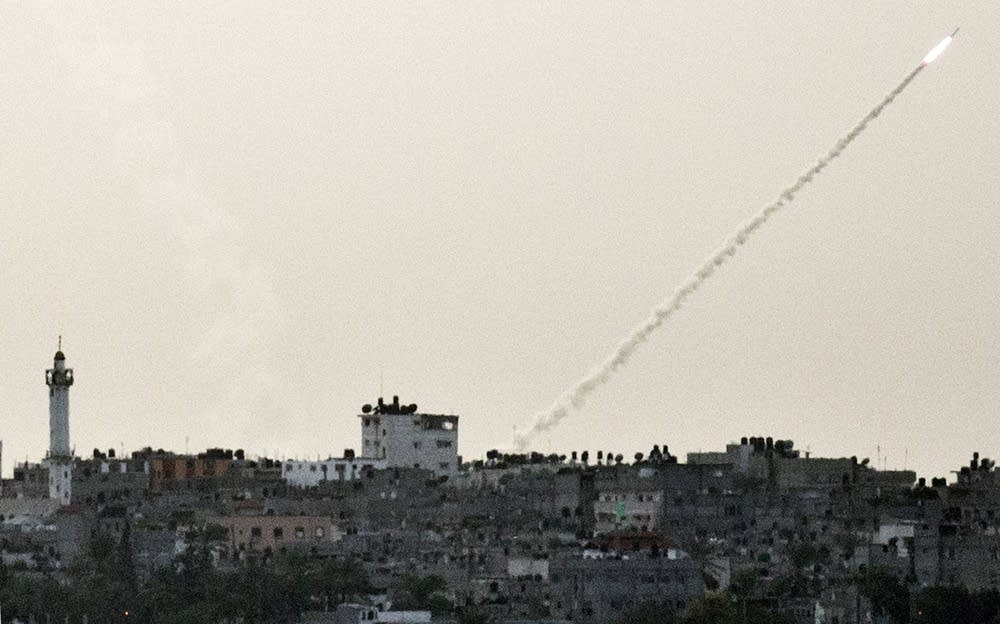 Rocket from Gaza